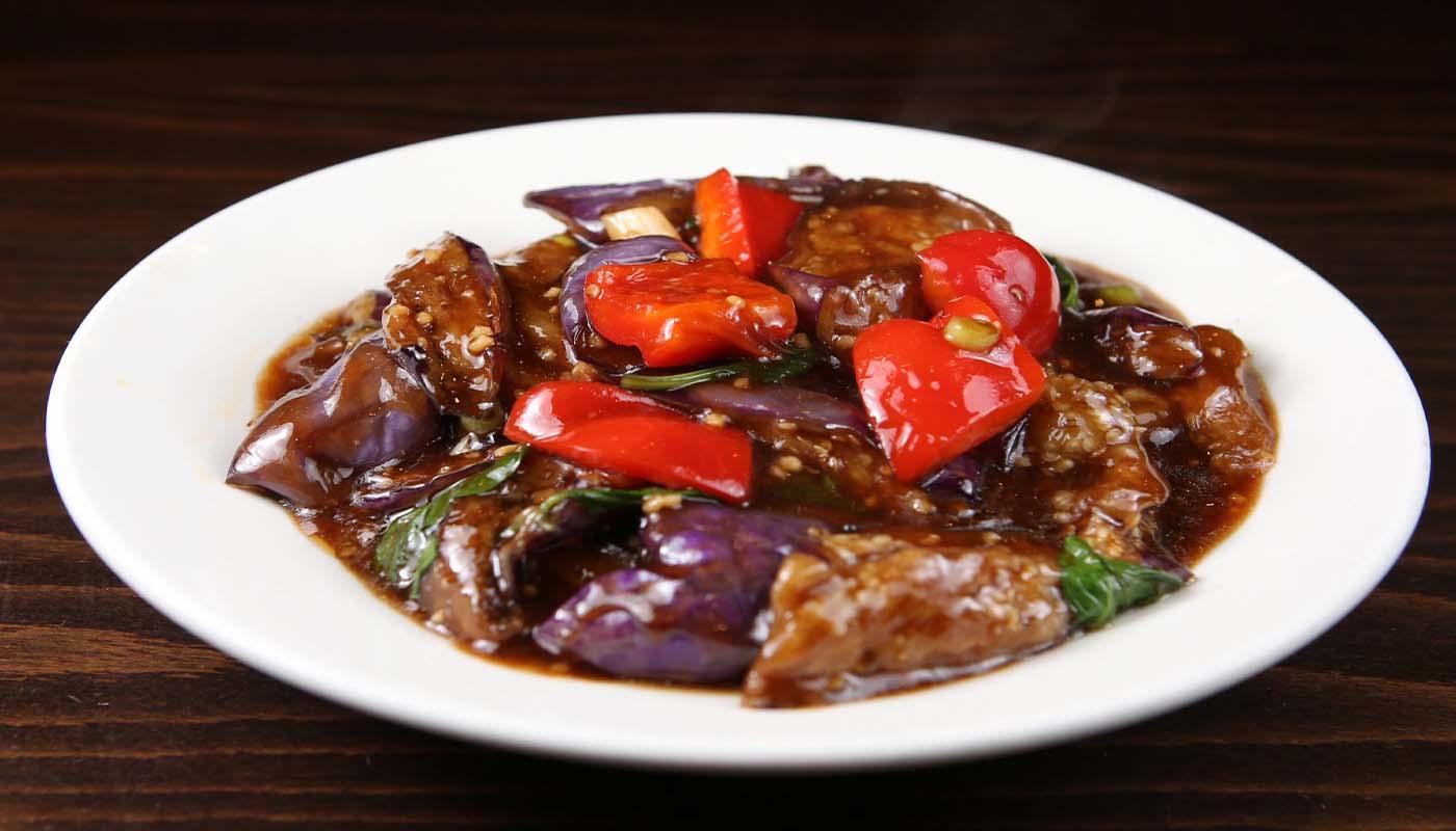 v08 basil chinese eggplant 九层塔茄子