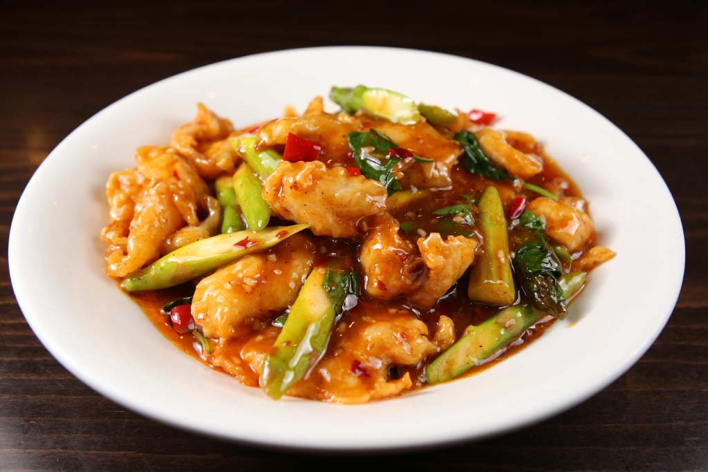 f10 basil fish filet 九层塔鱼片 [spicy]