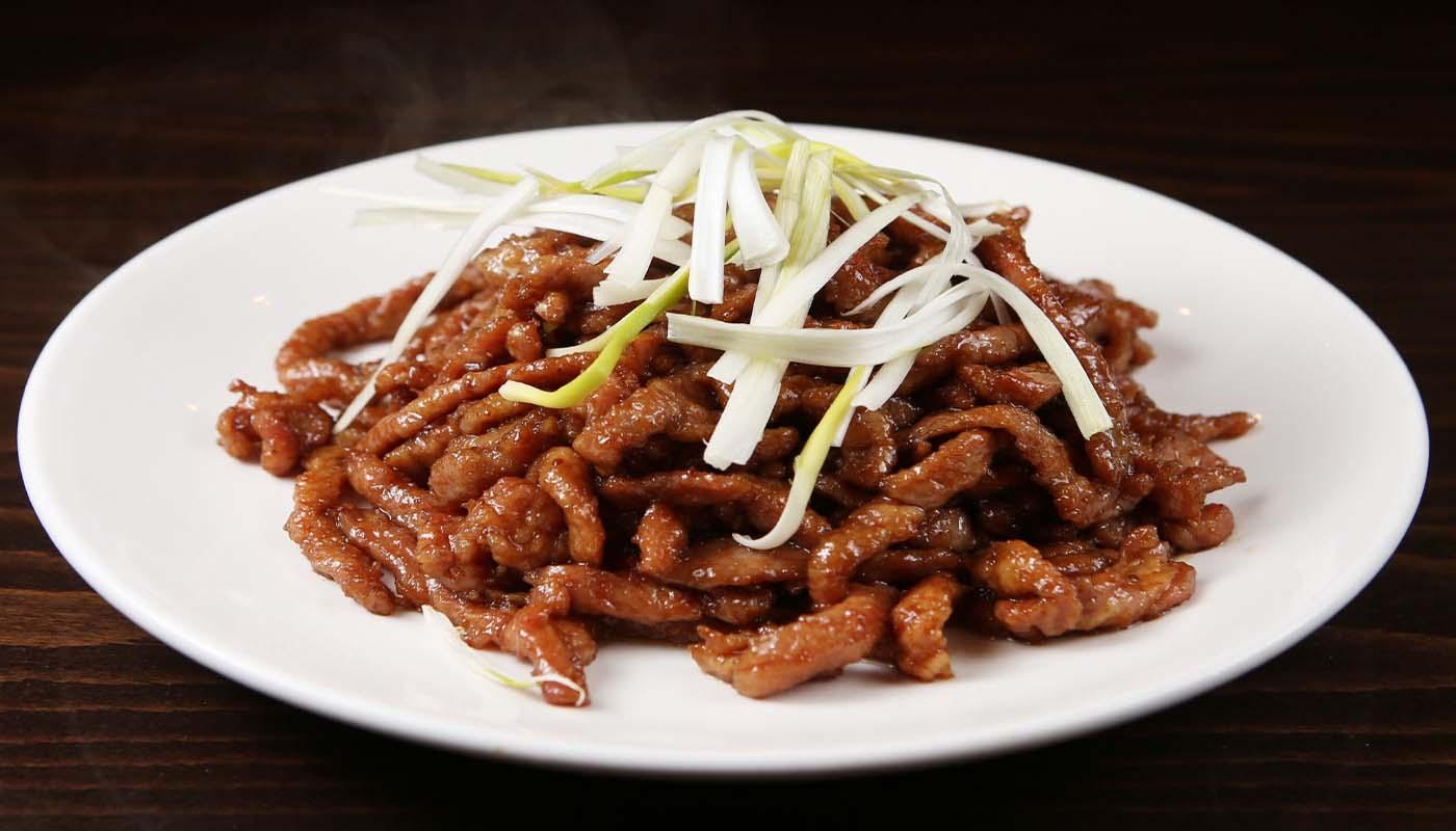 p09 peking pork 京酱肉丝