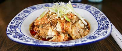 x16 chicken with green peppercorn  椒麻口水鸡 [spicy]