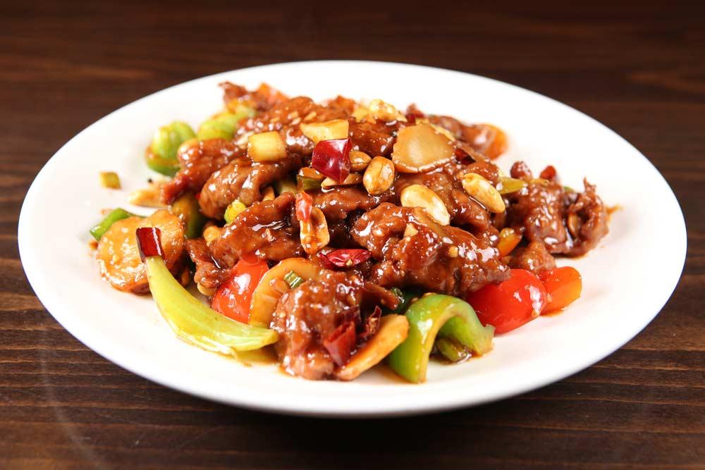 b06 kung bao beef 宫保牛 [spicy]