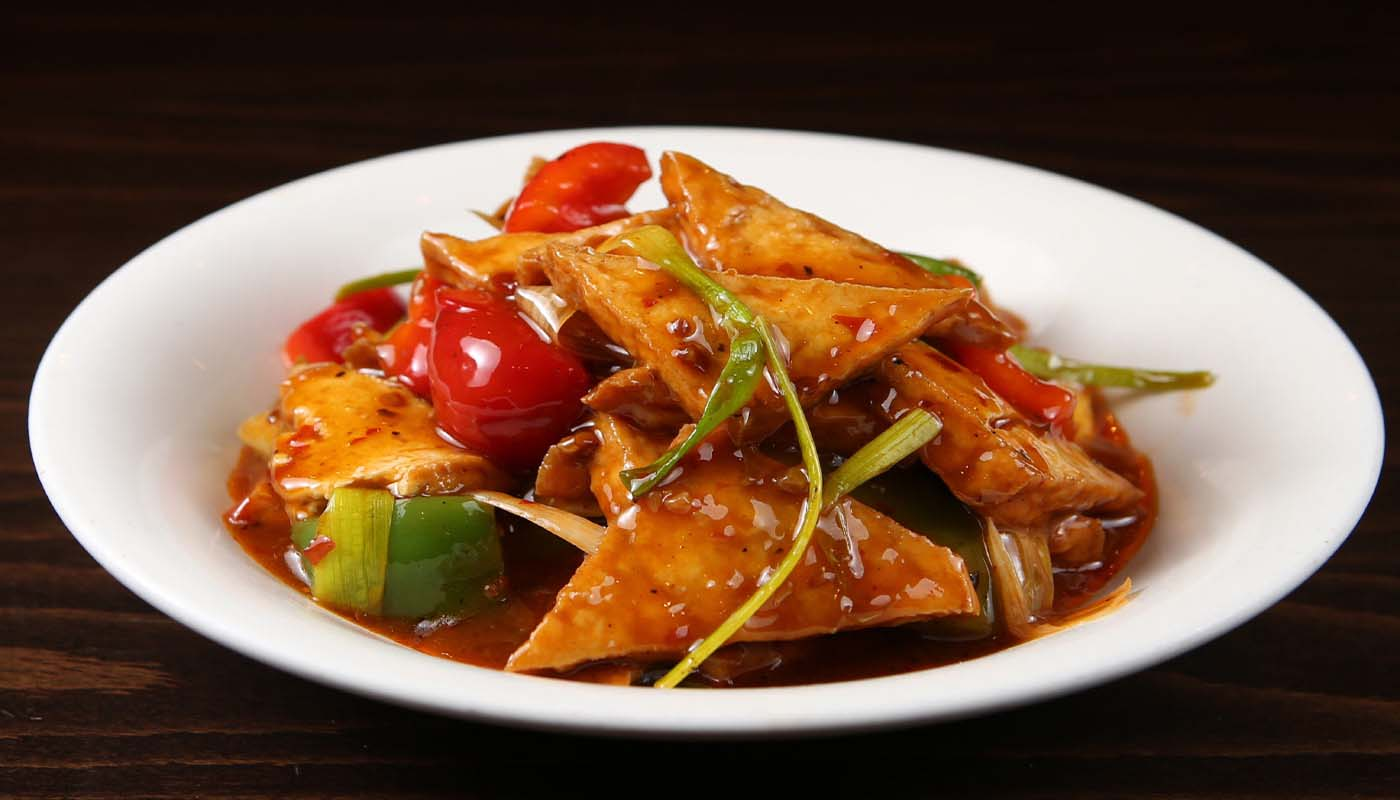 v02 family style tofu 家常豆腐 [spicy]
