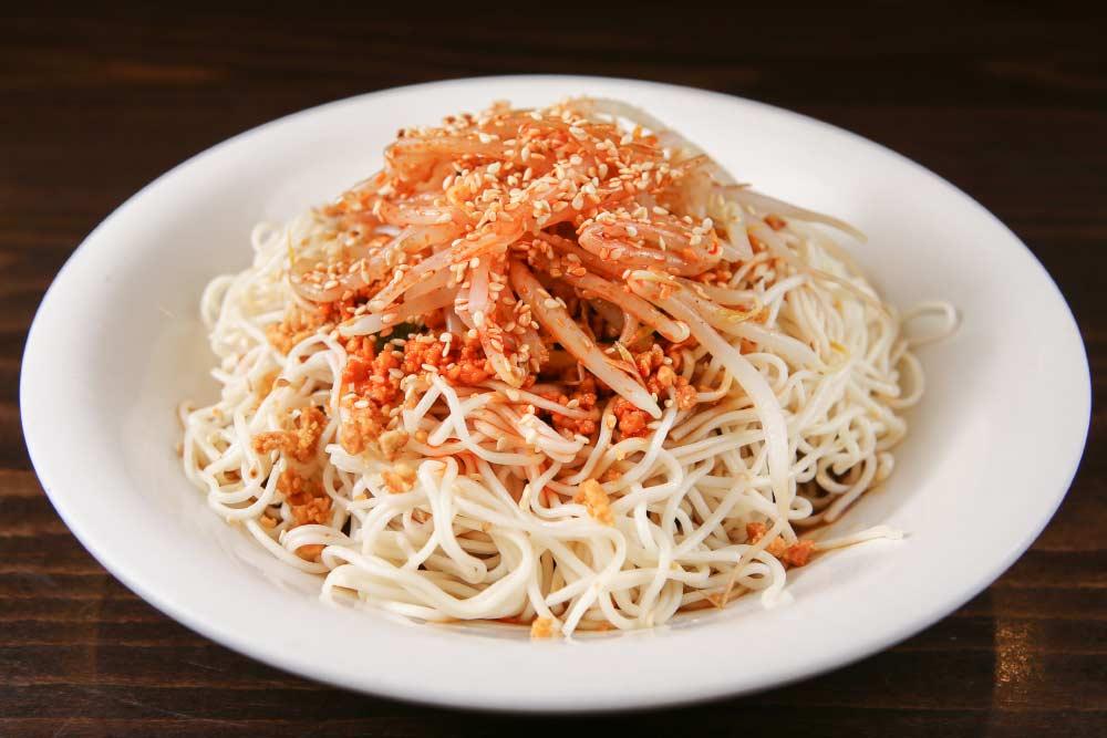 x10 sichuan cold noodles 川味凉面 [spicy]