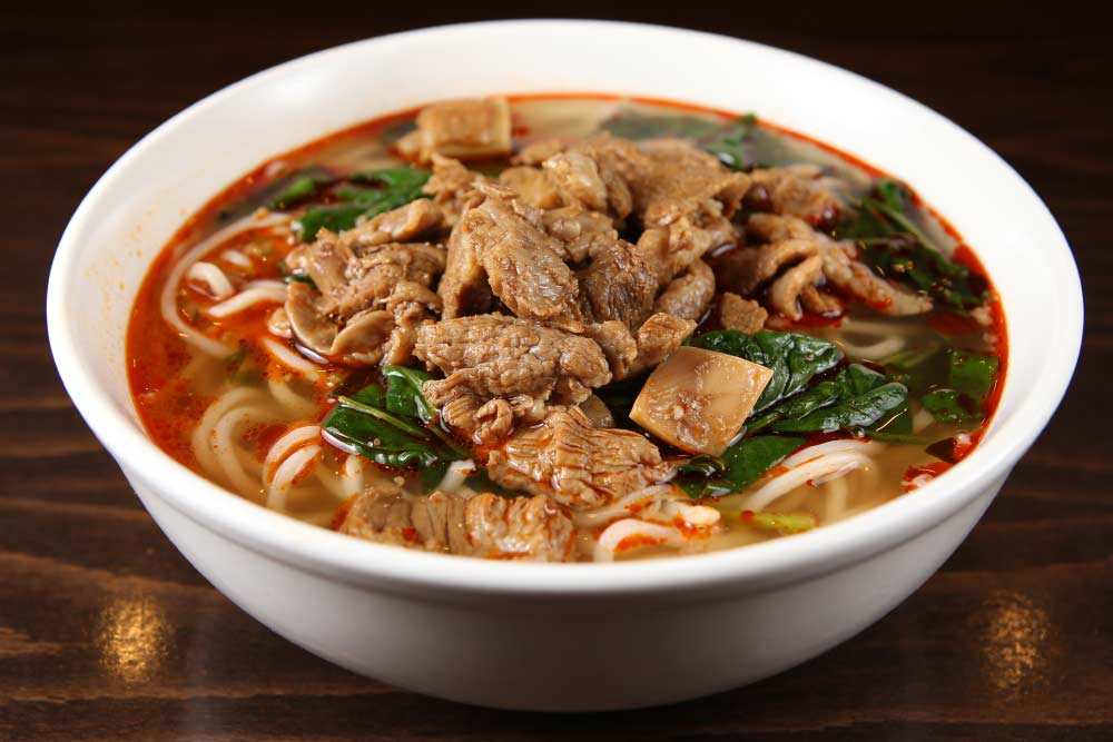 t01 beef noodle soup 牛肉面 [spicy]