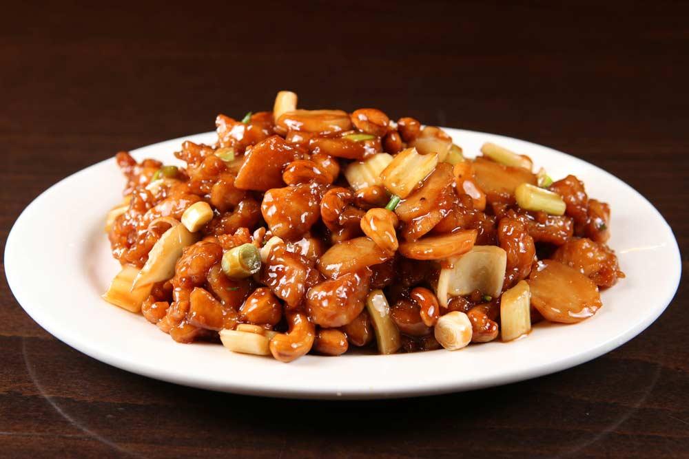 j11 chicken w. cashew nuts 腰果鸡
