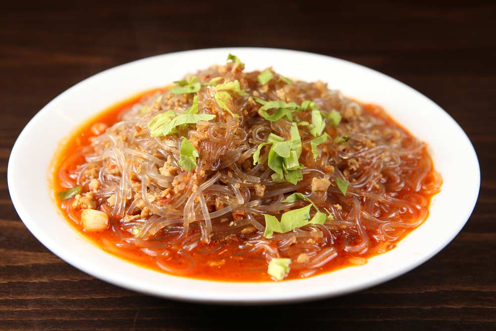 p12 cellphane noodles & minced pork 蚂蚁上树 [spicy]