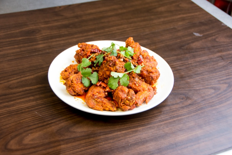 a07. spicy fried chicken wings (6 pc) 炸辣鸡翅[spicy]