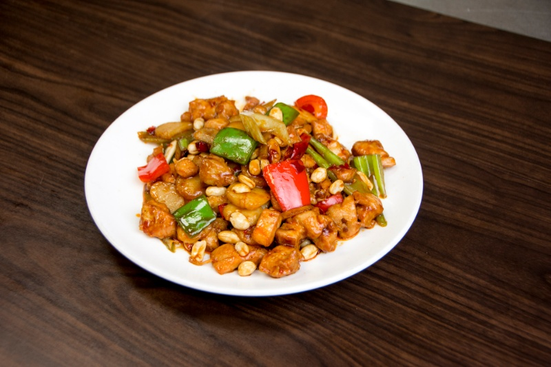 c04. kung pao chicken 宫保鸡丁[spicy]