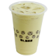 honeydew milk tea 哈密瓜奶茶