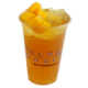 peach aloe fruit tea 蜜桃芦荟鲜果茶 (large)